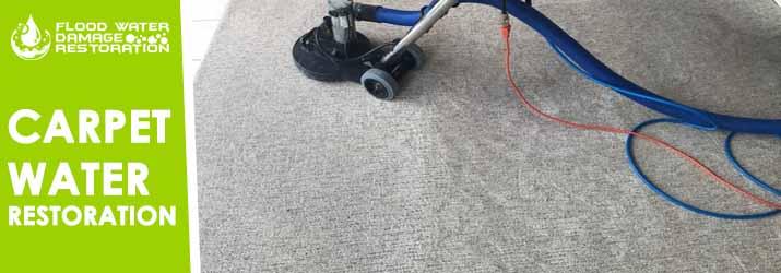 Carpet Water Restoration Canberra