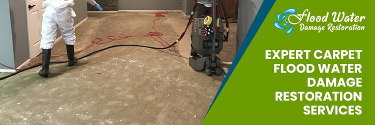 Expert Carpet Flood Water Damage Restoration Services